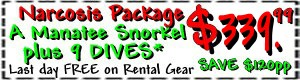 dive package crystal river coupon