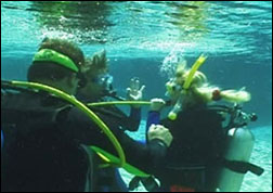 open water scuba dive